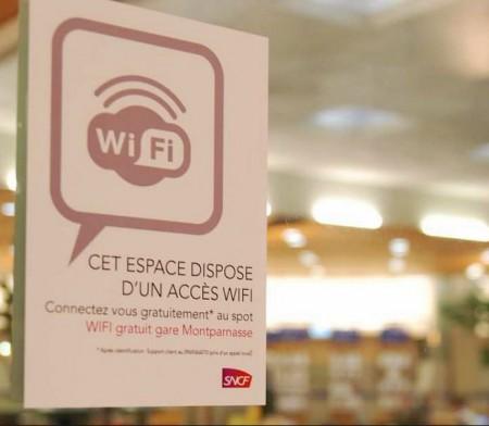 wifi dans les trains SNCF