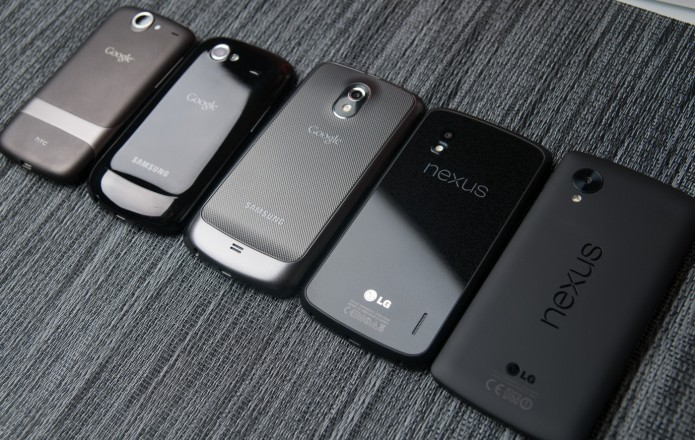 Google souhaite reprendre la main sur la construction des smartphones Nexus