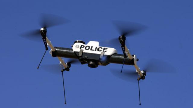 drone de surveillance utilisé par la police et l'armée américaine