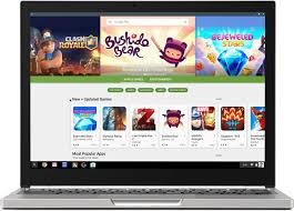 Les chromebooks bientôt équipés du Google Play Store