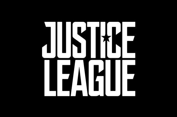 Un logo et des informations sur le film Justice League