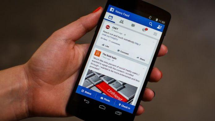 L'application Facebook sur Android est trop energivore