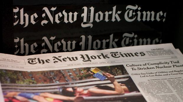 Version IOS New York Times censurée en Chine