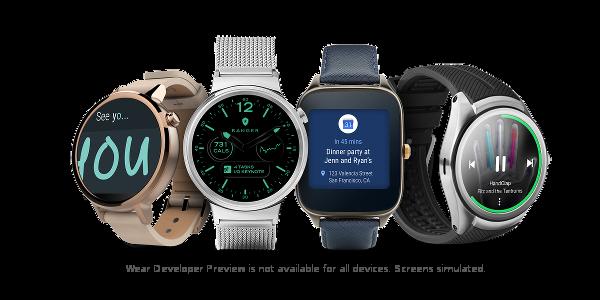 Android wear 2.0 est arrivé avec son lot de nouveautés