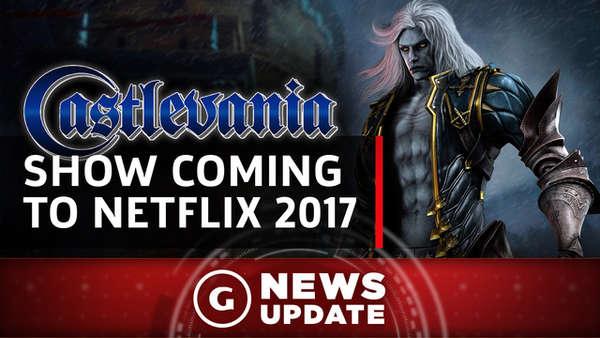 Castlevania va être adapté en série animée sur Netflix