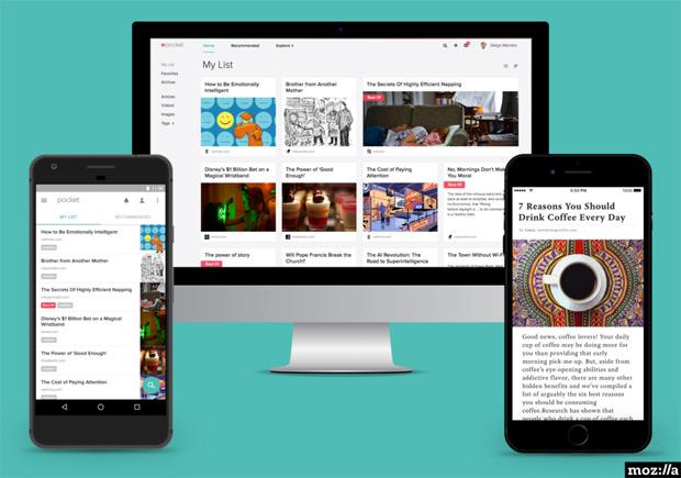 Mozilla rachète Pocket et le fait passer en Open Source