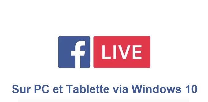 Facebook Live arrive sur PC pour concurrencer Twitch