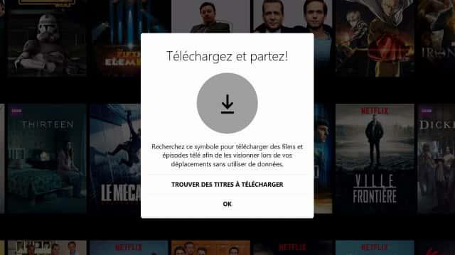 Netflix lance la lecture hors connexion sur WIndows 10