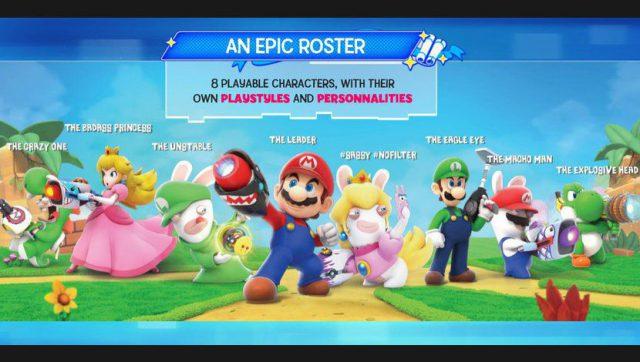 Mario et les lapins crétins on se fusille à coup de laser