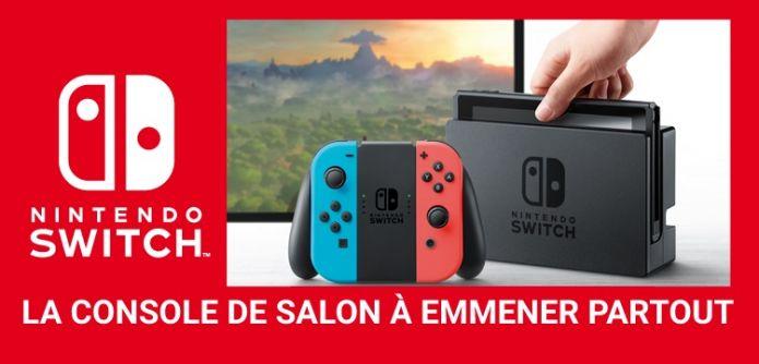 Nintendo déclare ne pas être responsables des ruptures de stock de la Switch