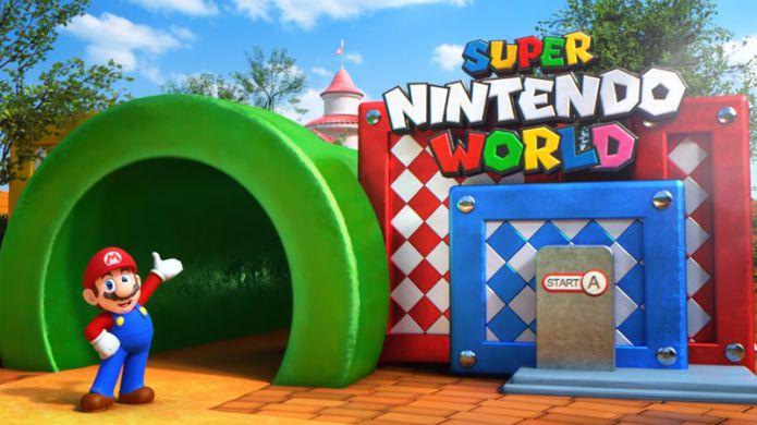 Super Nintendo World se présente en vidéo