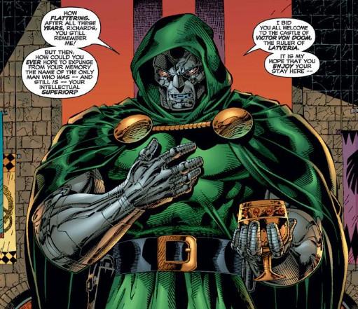 Le vilain des 4 fantastiques Doctor Doom aura droit à son propre film au cinéma