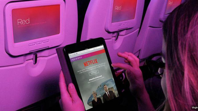 La technologie de diffusion mobile de Netflix bientôt disponible dans les avions