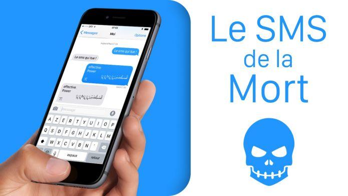 Un SMS fait encore buger les iPhone et Apple déploie un nouveau correctif