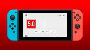 La Nintendo Switch se met à jour avec son firmware 5.0